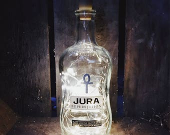 Jura Bottle Lamp with built in battery