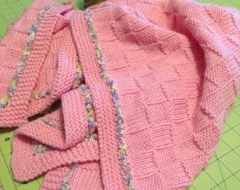 Super Simple, Super Sweet Baby Blanket Knitting Pattern