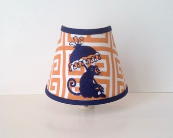 Chinoiserie Monkey Night Light  (other colors available)