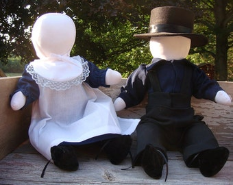 Amish Boy & Girl Set