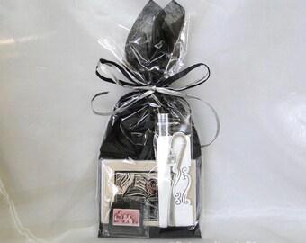 Geschenkpaket Lehrer - Apfel und Bücher Grußkarten, Apfel und Buch Lesezeichen, Vintage Lehrer-Stempel-Magnet