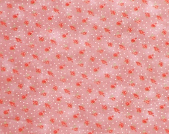 Soft Mauve Rose Cotton Sentimental Journey by Robyn Pandolph