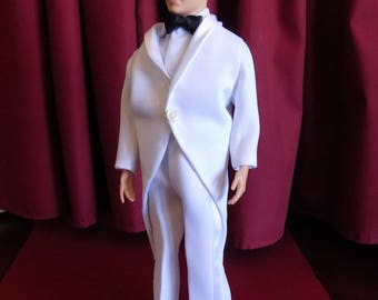 Value Cut-Away Tuxedo Ensemble--Fits Ken and other 12 inch male dolls