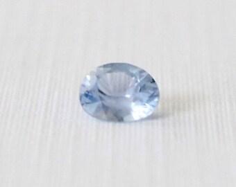 GIA Certified 0.99 Cts. Oval Cut Cornflower Blue Sapphire