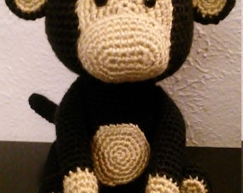 Crocheted Monkey