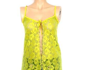 Upcycled Repurposed  Clothing lingerie camisole , bridal sleepwear,Small-Medium.