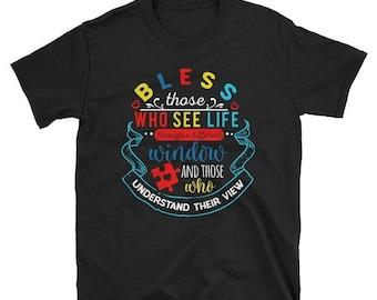 13% OFF SALE- UNISEX Tee Autism Tee Bless Parent Tee Special Ed Teacher Shirt Special Ed Sped Special Education Teacher Shirt Teacher Shirt