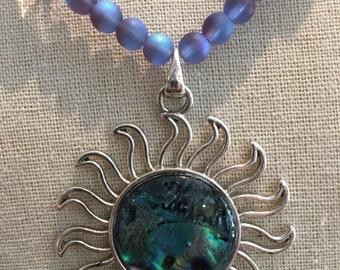Cool blue sun