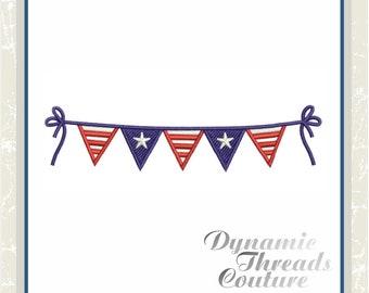 XD000088 American Pennant Banner