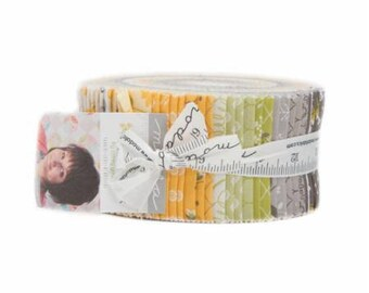"Pepper and Flax Jelly Roll by Corey Yoder for Moda, 40 - 2 1/2"" x 44"" strips"