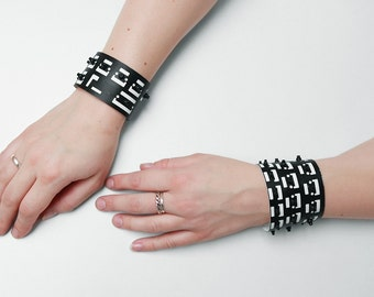 Recycled computerparts bracelet