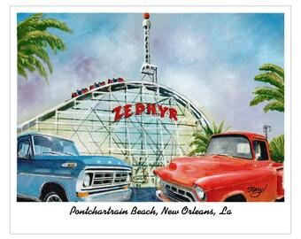 Pontchartrain Beach New Orleans La