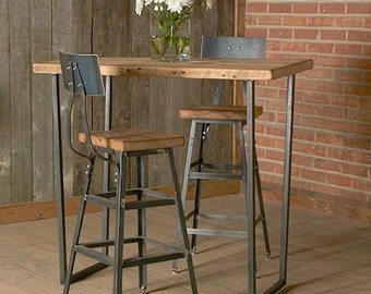 Bar Stool With Steel Back Table 18 Counter 25 OR