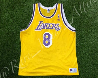 MEGA SALE 25% Kobe Bryant Jersey Vintage Champion Los Angeles Lakers Jersey NBA Basketball Jersey Rare DLTQE5mwA
