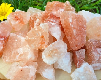 Himalayan Salt Rocks - Himalayan Crystals - Pure Himalayan Pink Salt Rocks - Detox Salt Rocks - Organic Natural Bath Salts - Salt Crystals