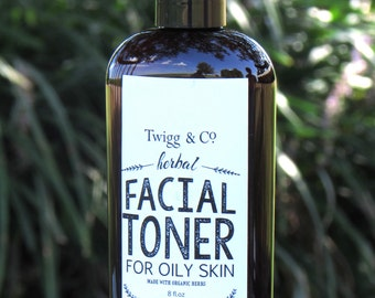 Twigg&Co. Facial Toner for Oily Skin 8 oz