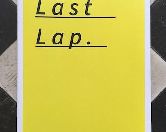 Last Lap.