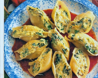 Recipes etsy almost free instant pdf download vintage recipe to make home made spinach and ricotta shells prep forumfinder Image collections