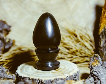 The egg is made of natural stone ! Shungite J2