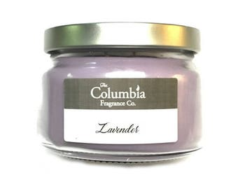 LAVENDER candle, 8 oz candle, optional gift box