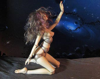 Porcelain bjd Dark Side Of The Moon, BJD doll ooak