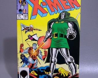 Vintage 1985 X-Men No. 197 Dr. Doom Issue