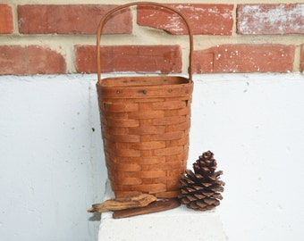 Longaberger Handwoven Maple Signature Basket, 1988