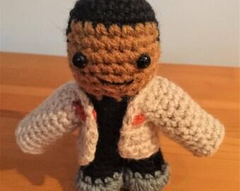 Finn Star Wars crochet figure