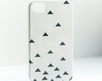 iPhone 6 Case Geometric iPhone 6S Case, Triangle iPhone 6, Black and Gray Galaxy  / S7, ,  Case iPhone 6 Plus Case