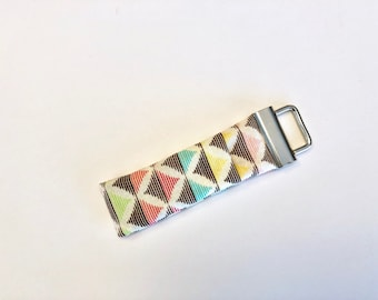 Chapstick Lip Balm Cozy Keychain-Color Diamonds