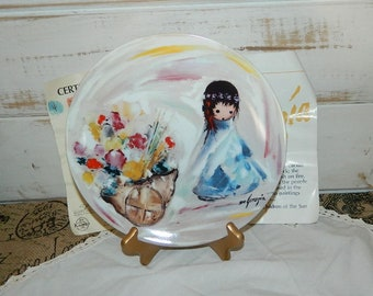 Ettore Ted De Grazia's Children of the Sun Collectible Plate - Gifts From The Sun
