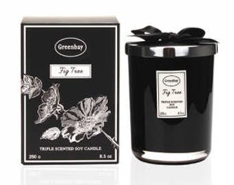 Greenbay EFC-8040 Fig Tree Triple Scented Soy Candle 100% organic product