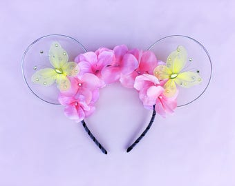 Fairy Pink Mouse Ears