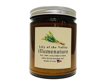 The Amber Collection   8oz Lily of the Valley Candle