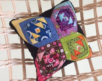 Rainbow Crossing Pillow Case / Mini Quilt PDF Pattern