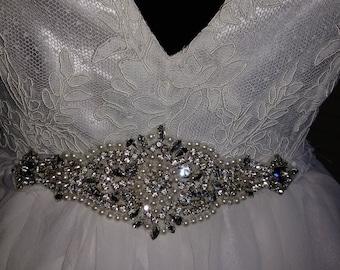 Beaded Bridal Belt
