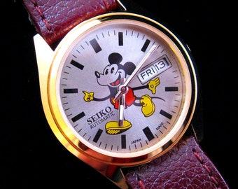 "Seiko ""Mickey Mouse"" Automatic! - c.April 1983"