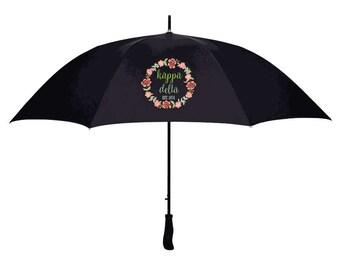 Kappa Delta Floral Umbrella