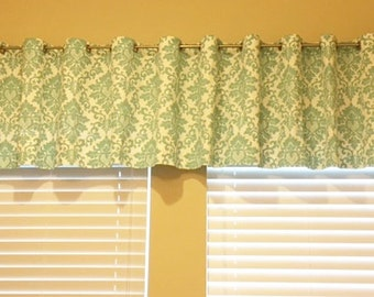 Custom Window Valance | Drapery Window Treatment | Home Accessories