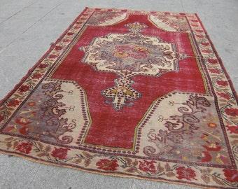 rug turkish, old rug pastel, runner interior, turkish oushak vintage rug oushak vintage rug, floor runner rug, 230