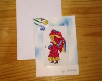 Handmade Child Christmas Card