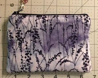 Small zipper pouch, small zipper bag, zipper pouch coin purse, essential oil pouch
