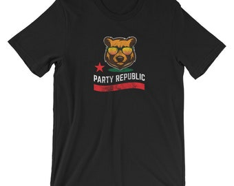 Party Republic T-shirt Graphic Tee