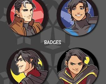 """2.25"""" Batboys Button Badge"""