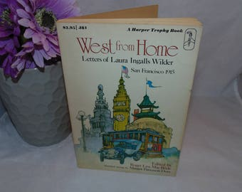 Vintage 1976 PB Laura Ingalls Wilder West From Home Letters