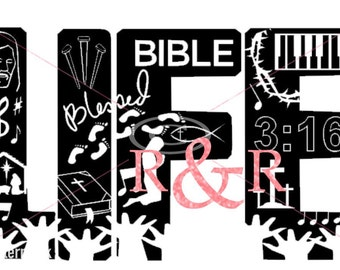 Religious life Svg, SVG file, Bible Life SVG,SVG Church, Pastor, Christian, Religious,  Bible Design for Silhouette and other craft cutters
