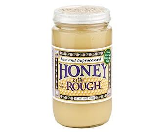 Dutch Gold Honey In The Rough, 16 Oz.