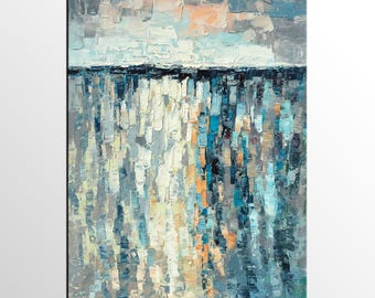 Heavy Texture Painting, Large Painting, Oil Painting, Canvas Painting, Modern Wall Art, Custom Art, Large Abstract Art, Abstract Painting