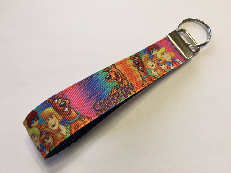 Tie Dye Scooby Doo and the Gang Key Fob Keychain wristlet 0b06083f9249
