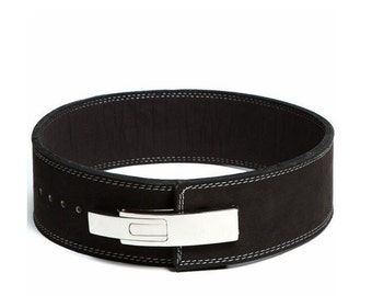 Lever Buckle Powerlifting Belt 10mm Weight Lifting